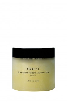Sorbet - Body scrub sea salt (Lime)