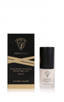 Indécente - Crème stimulante clitoridienne (Crème Brûlée)