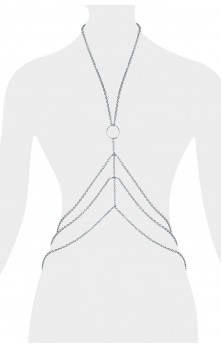 Medea - Body chain (Rhodium Silver-plated)