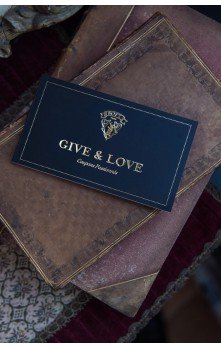 Give & Love - Checkbook