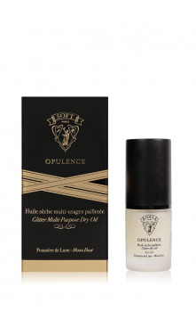 Opulence - Glitter multi-purpose dry oil (Moon Dust (silver))
